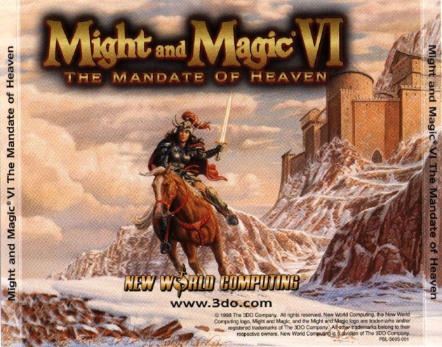 лого Might and Magic VI: The Mandate of Heaven