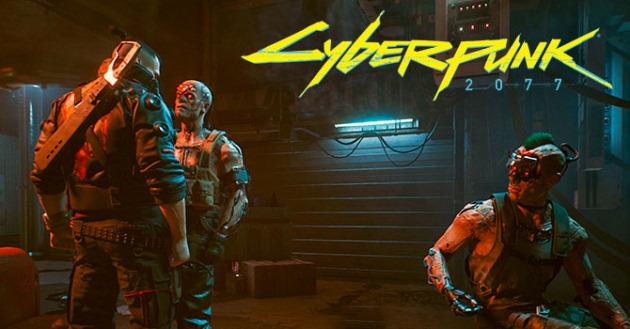 Заставка игры Cyberpunk 2077