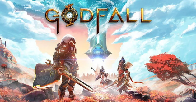 Заставка игры Godfall