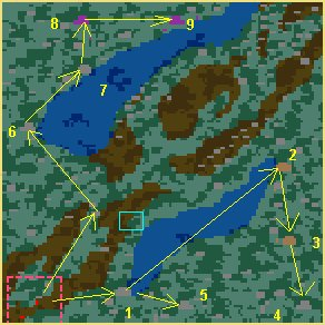 Карта Болота нежити