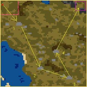 Карта Острозуб