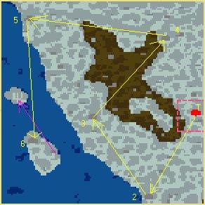 Карта Сказочные драконы