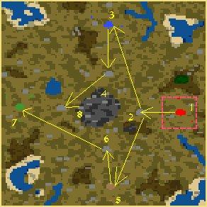 Карта Война кланов