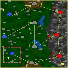 карта напасти Катерины