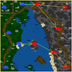 Карта Возвращение короля